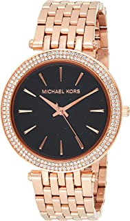 Michael Kors Womens Quartz Watch, Analog Display and Stainless Steel Strap MK3402