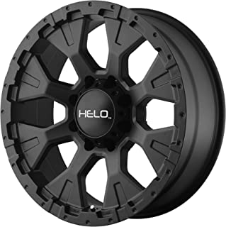 "Helo HE878 Wheel with Satin Black Finish (17x9""/6x5.5"")"