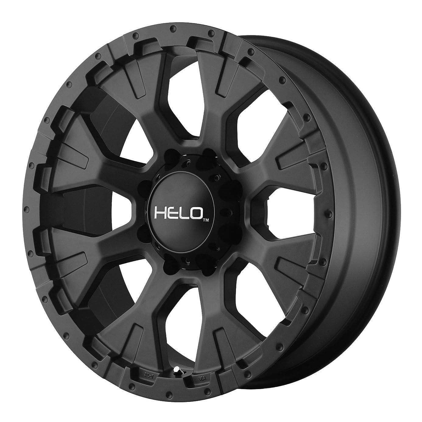 Helo HE878 Wheel with Satin Black Finish (17x9