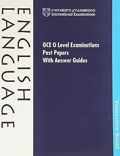 cambridge international examinations past papers english