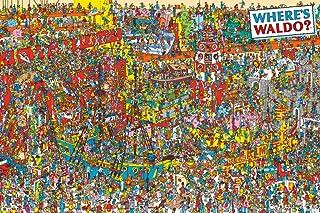 POSTER Where's Waldo? Visual Challange 36x24 Art Print Poster, Multicolor (AQ 241425)