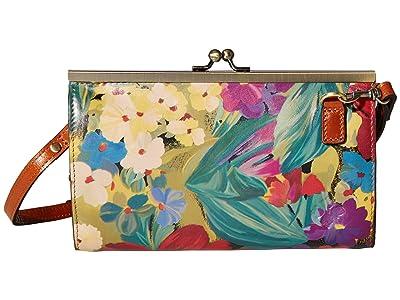 Patricia Nash Vallina Frame Crossbody Bag (Citrus Sunrise) Bags