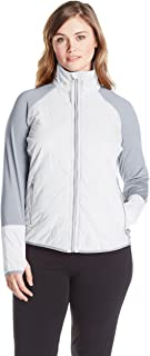 CALVIN KLEIN Performance Women's Size Plus Polyester Filled Jacket with Knit Sleeves