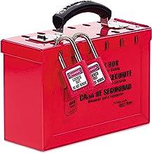 "ماستر لوك 6 ""X9-1/4"" X3-3/4"" صندوق قفل معدني مجموع 498A"