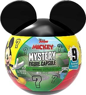 Disney Junior Mickey Mouse Mystery Figure Capsule, 9 pieces inside, Amazon Exclusive