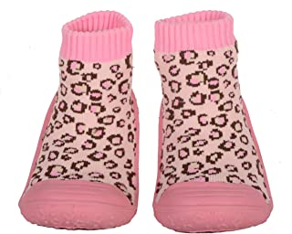 SKIDDERS Baby Toddler Girls Leopard Shoes Style #XY4189