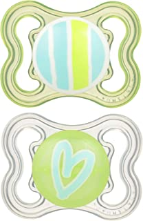 MAM Mini Air Pacifiers (2 pack), MAM Sensitive Skin Pacifier 0-6 Months, Best Pacifier..