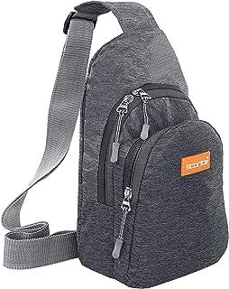Storite Crossbody Shoulder/Chest Sling Bag for Men Women, Lightweight One Strap Sling Bag for Hiking Walking Biking Trave...