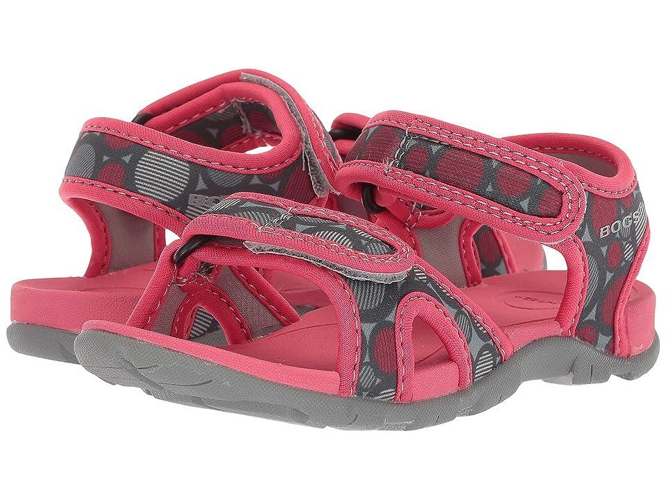 Bogs Kids Whitefish Multi Dot (Toddler) (Rose Multi) Girls Shoes