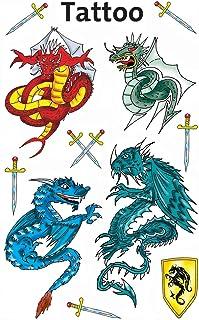 AVERY Zweckform 56404 Tattoo Kinder 11 Stück (Temporäre Ta