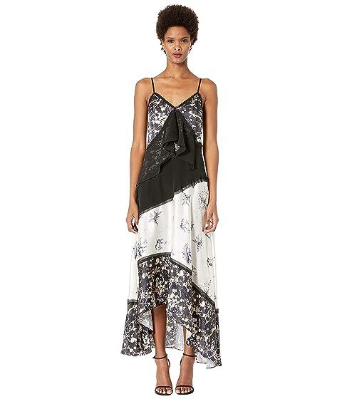 GREY Jason Wu Winter Floral/Marble Dress