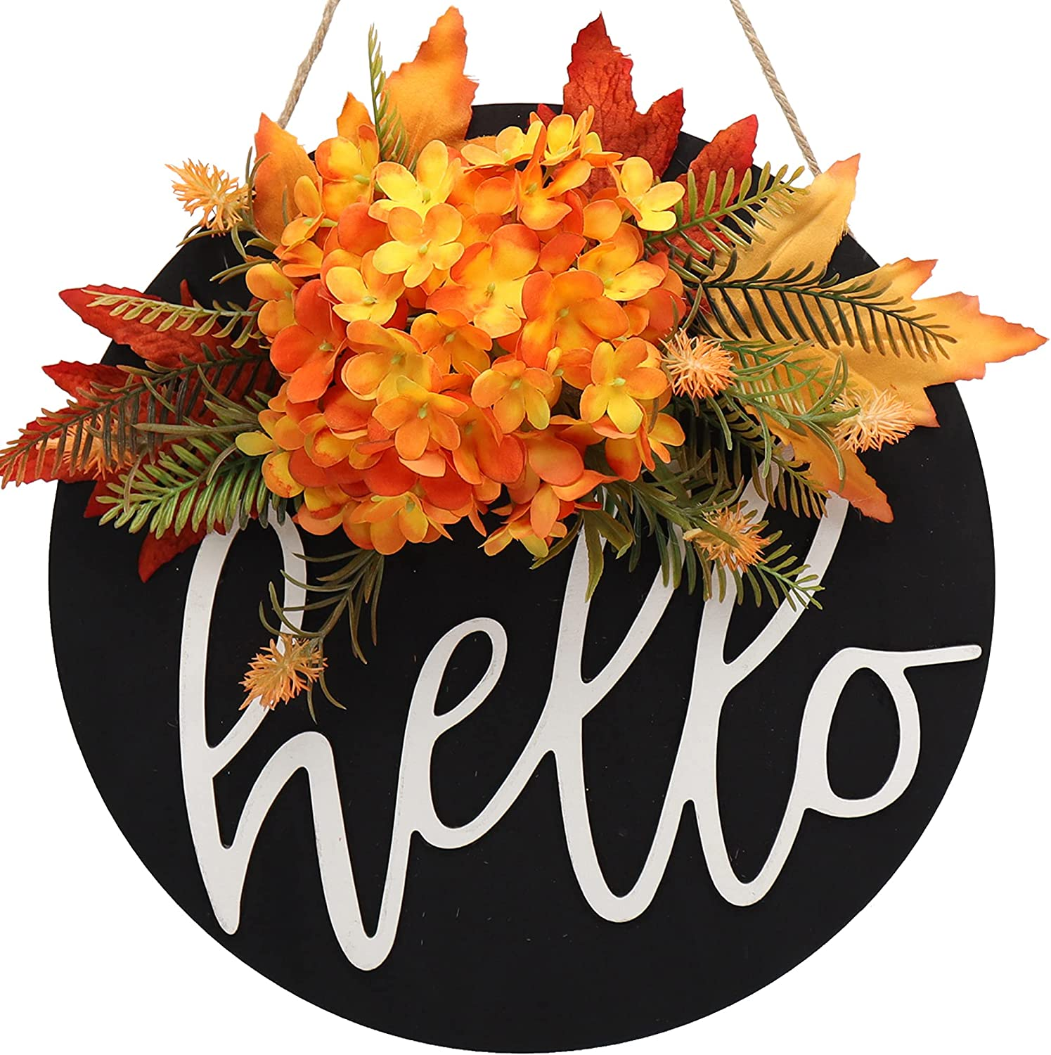 fall wreaths for front door sign welcome spring OFFicial site Seattle Mall s