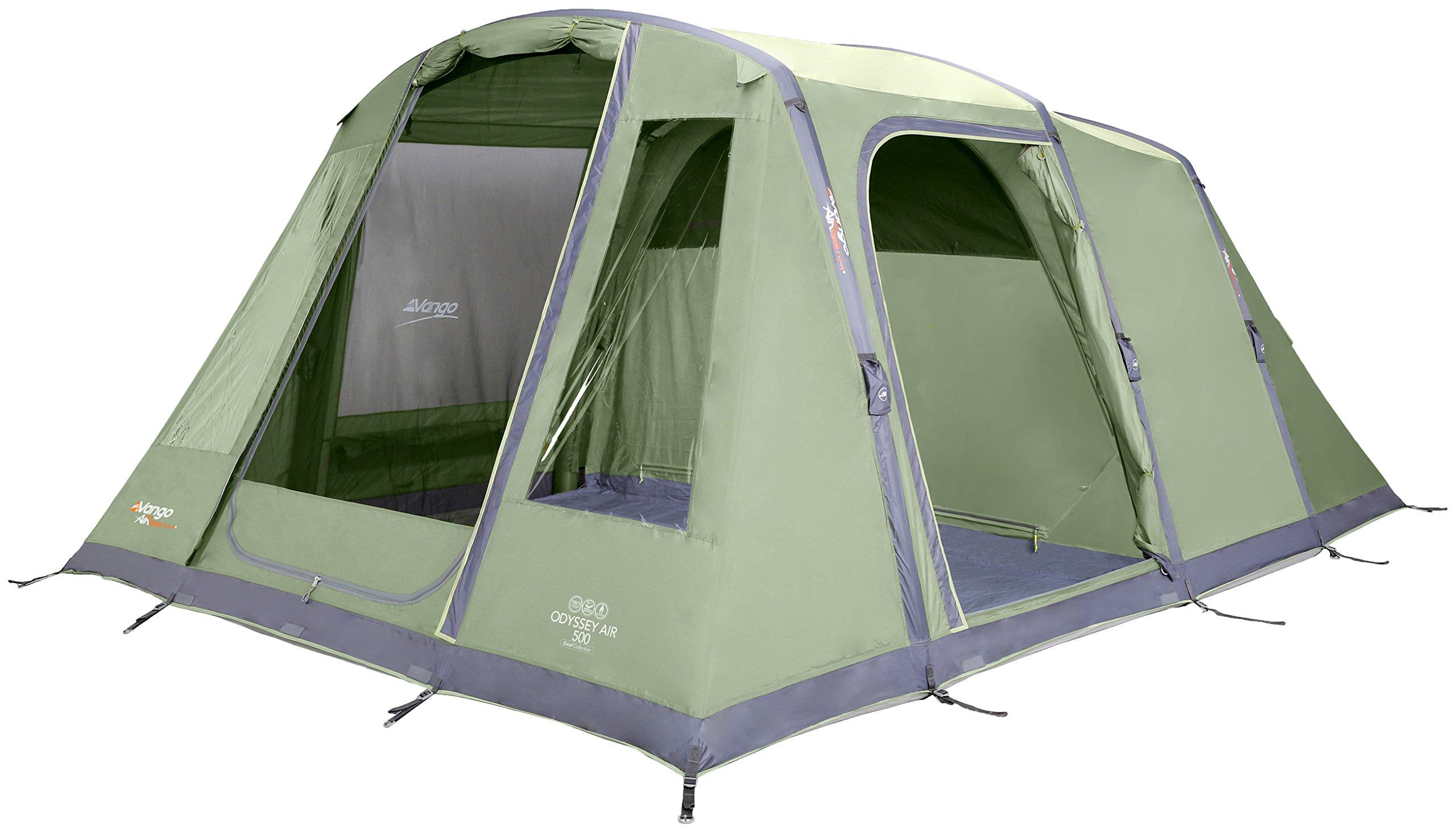 Vango 5 Person Odyssey Air 500 Tent Epsom  sc 1 st  Amazon.com & Inflatable Tent: Amazon.com