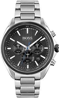 Hugo Boss Men's Analog Quartz Watch with Stainless Steel Strap 1513857