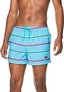 Speedo Men's Swim Trunk Short Length Redondo Striped