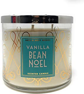 BW Bath and Body Works Vanilla Bean Noel Scented 3 Wick Candle for 2017