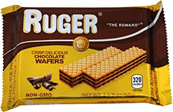 Ruger Wafers Austrian Wafers, Chocolate, 2.125 Ounce (Pack of 12)