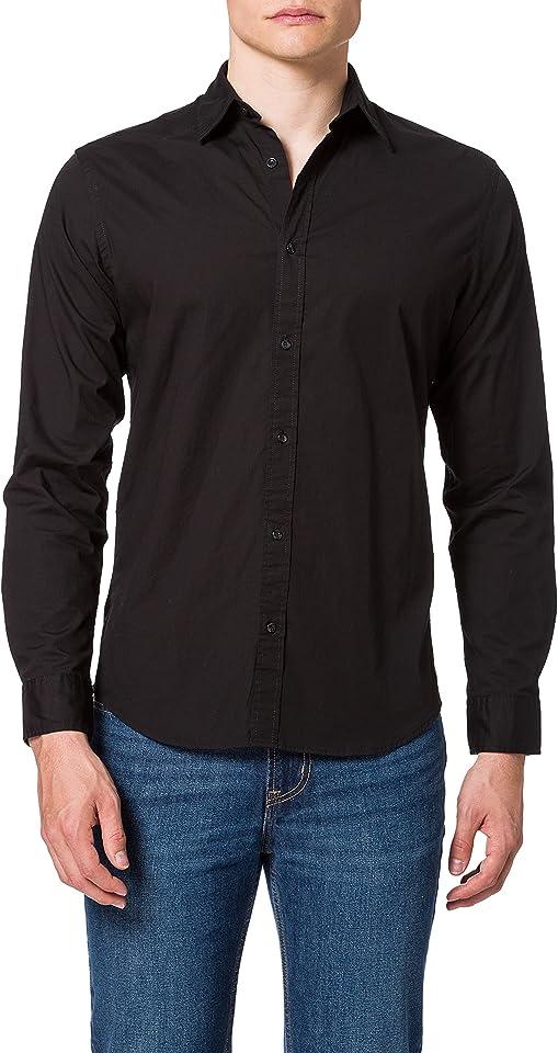 Herren Jjclint Shirt L/S Slim Fit Hemd