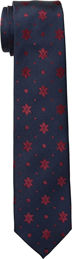 Scotch & Soda - Classic Tie with Colourful Jacquard Pattern