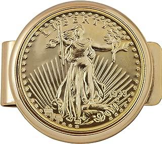 gold coin money clips