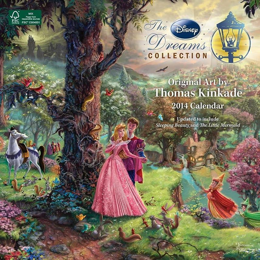 機械的和野心的Thomas Kinkade: The Disney Dreams Collection 2014 Wall Calendar