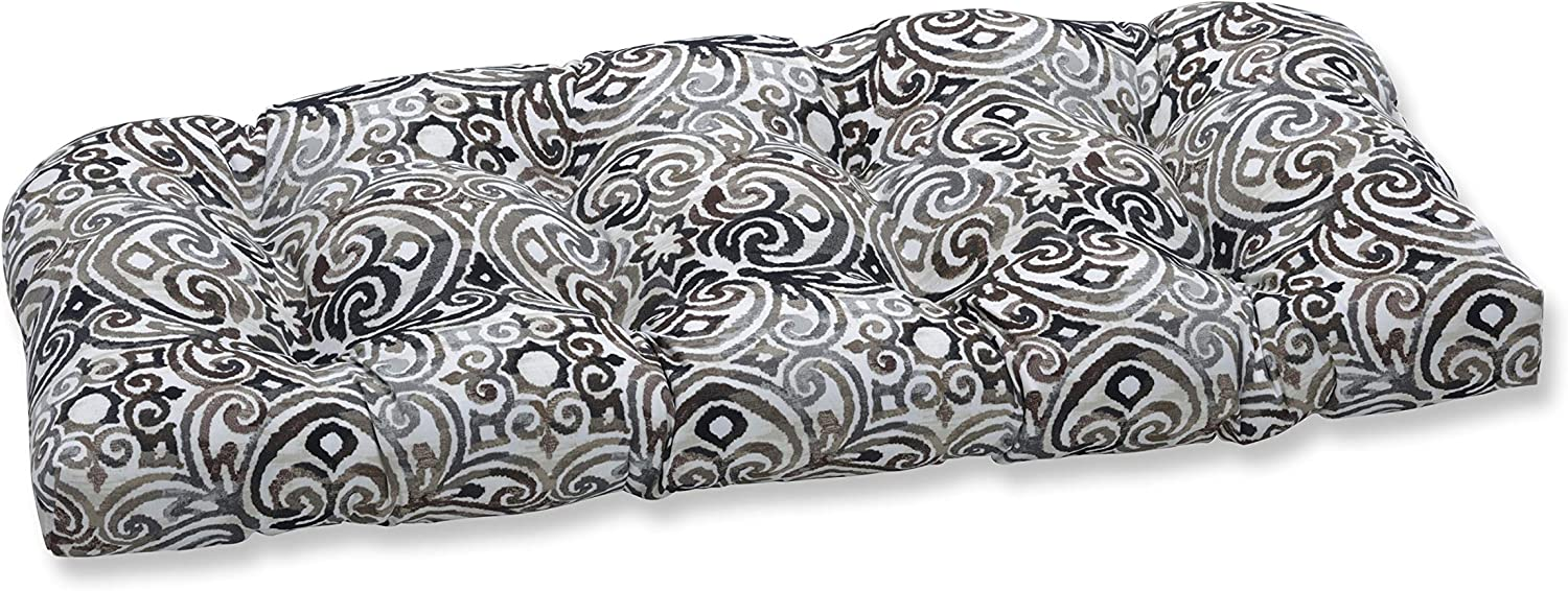 Pillow Perfect Japan Maker New Outdoor Indoor Corinthian Driftwood Tufted Max 69% OFF Bench