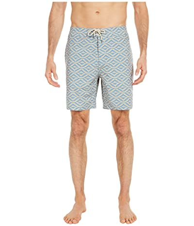 Faherty Classic 7 Boardshorts (Santa Rosa) Men