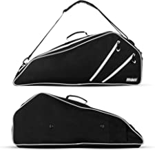 Fitdom Black Tennis Racket Bag – Can Carry Up to 3 Racquets. Perfect for Men,..