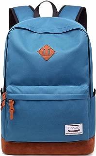 School College Backpack Bookbag 15.6 inch Laptop Travel Bag with USB Charging Port