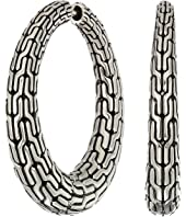 John Hardy - Classic Chain Graduated Small Hoop Earrings