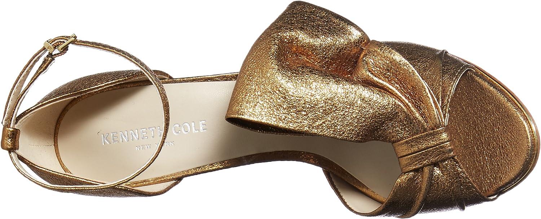 Kenneth Cole New York Womens Blaine Oversize Bow Stilleto Dress Sandal Heeled