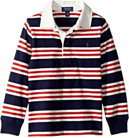 Striped Cotton Jersey Rugby (Little Kids/Big Kids)