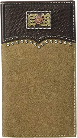 Overlay w/ Tri-Tone Concho Rodeo Wallet