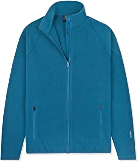 Musto Mens Crew Warm Fleece Coat Jacket Cove Blue - Breathable