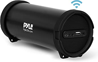 Pyle Surround Portable Boombox Wireless Home Speaker Stereo System, Built-in Rechargeable..