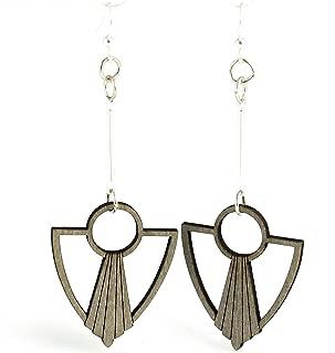 Art Deco Anchor Fan Earrings