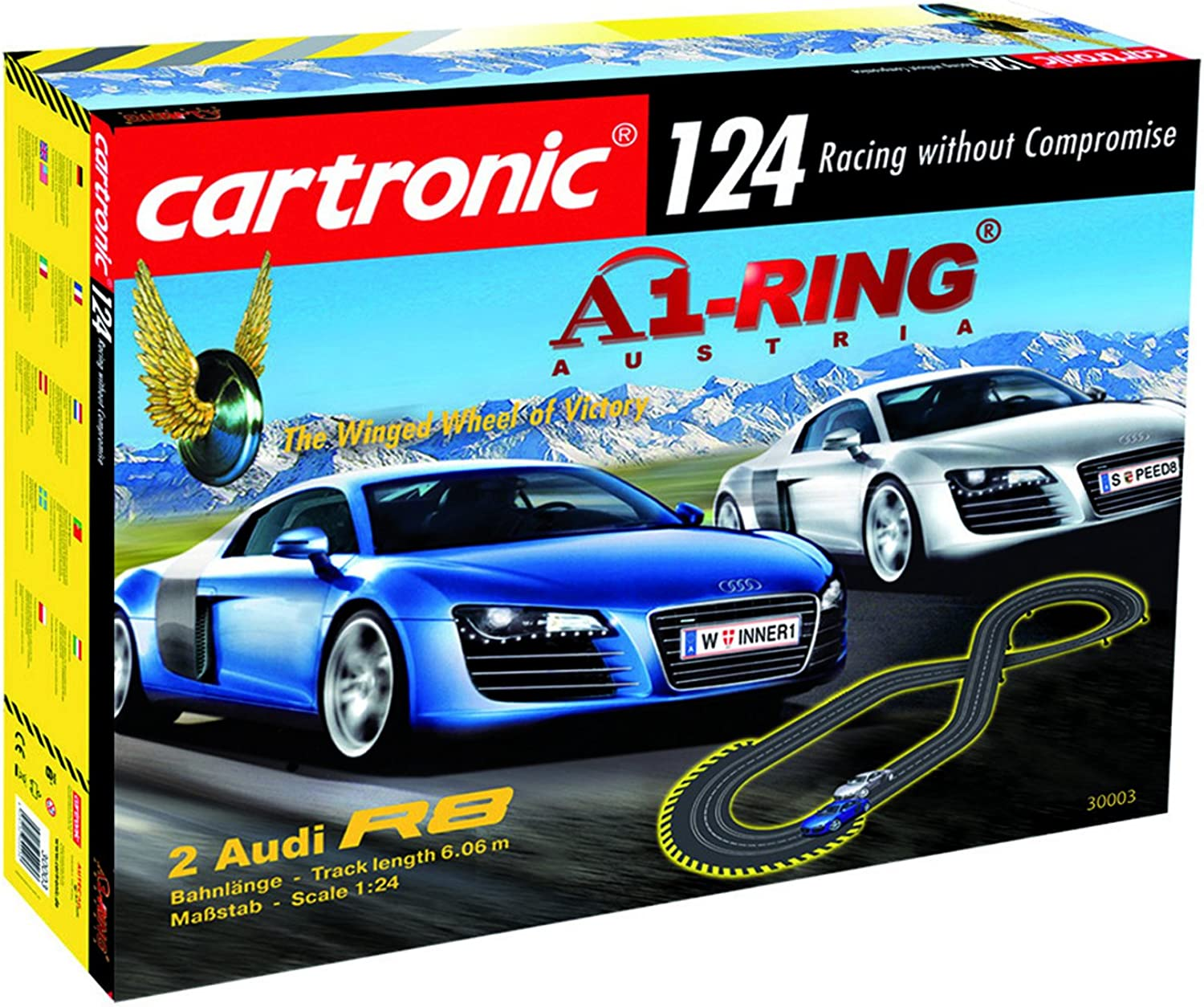 Cartronic 30003 - 124 Voie de course de voiture A1-Ring