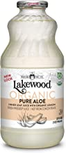Lakewood Organic PURE Aloe Inner Leaf, Fresh Pressed (32 oz, 6 pack)