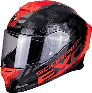 S Scorpion Casco de moto EXO-R1 AIR INFINI White-Blue-Red Blanco//Azul//Rojo