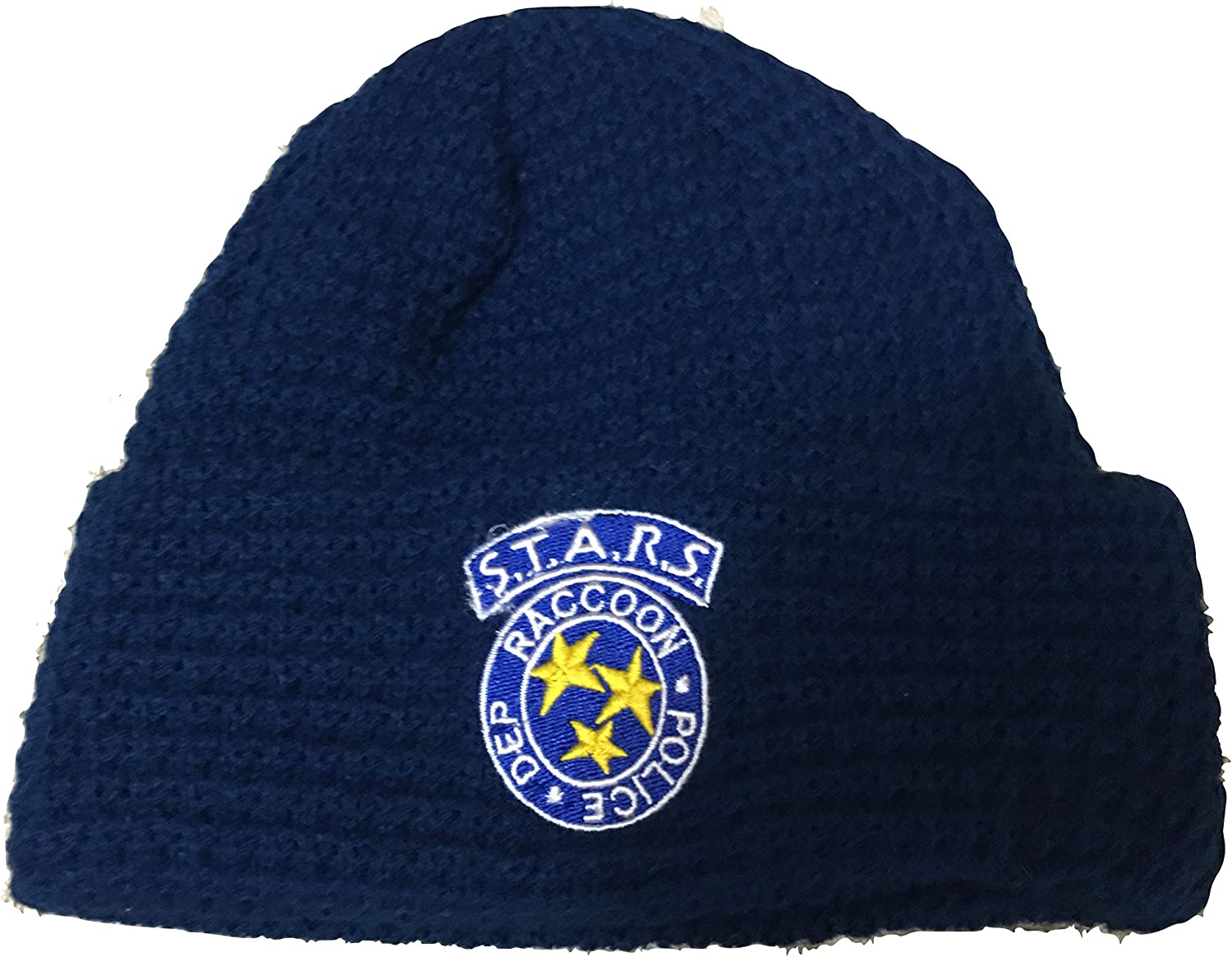 Financial sales New sales sale Loot Crate Resident Evil S.T.A.R.S Blue Beanie Large Navy Logo