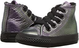 Converse Kids - Chuck Taylor All Star Iridescent Leather - Hi (Infant/Toddler)
