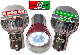 LED Aircraft Navigation/Position Light Bulb Set | 28VDC Red/Green/White | NavMax Series by Aero-Lites …