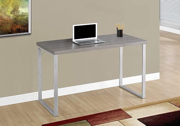 君主金属电脑桌 48 暗灰褐色