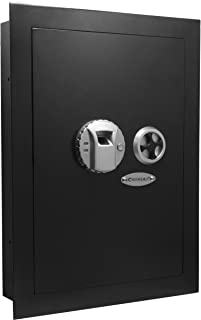 Barska Biometric Fingerprint Security Wall Safe 0.52 Cubic Ft