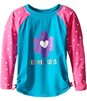 Hatley Kids - Little Hearts Rashguard (Toddler/Little Kids/Big Kids)