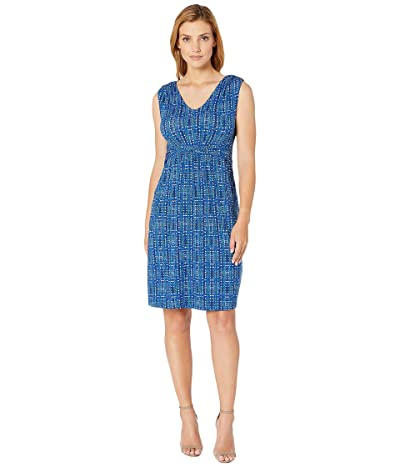 NIC+ZOE Check It Out Dress (Multi) Women