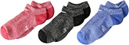 Performance Cushioned Dri-Fit No Show Training Socks 3-Pair Pack (Little Kid/Big Kid)