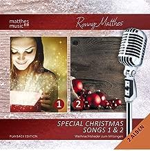 Special Christmas Songs (Vol. 1 & 2) - GEMA-freie Playback Edition - Die schönsten Weihnachtslieder (inkl. Textbooklet / Lyrics zum Mitsingen)