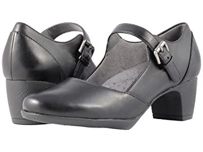 SoftWalk Irish II (Black Professional Leather) Women