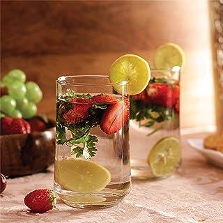 Ocean Patio Hi Ball Glass, Tumblers & Water Glasses, Pack of 6, Clear, 290 ml, B1831006